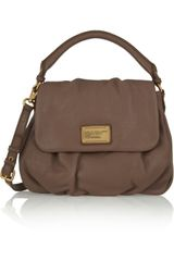 Marc By Marc Jacobs Classic Q Lil Ukita Textured Leather Shoulder Bag - Lyst