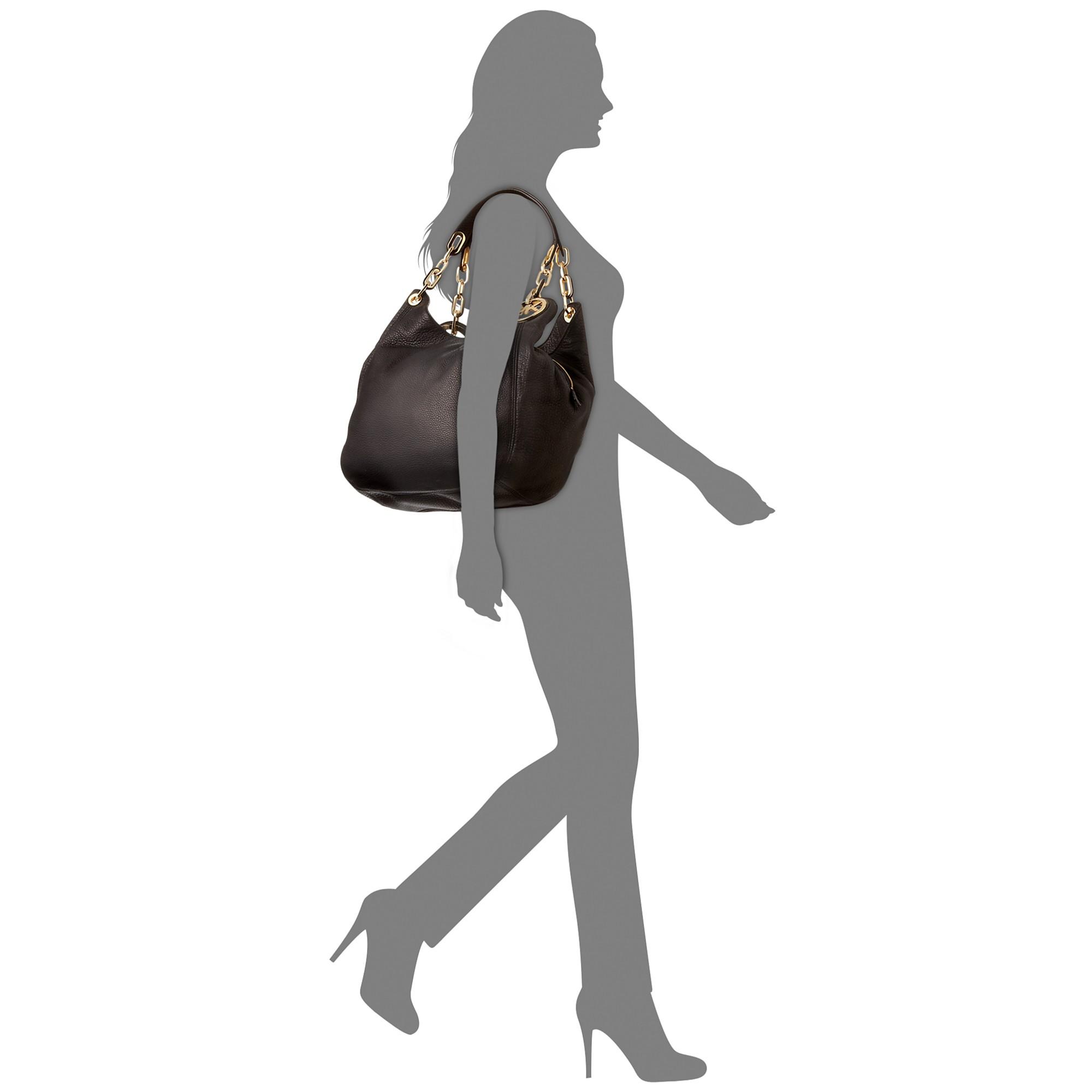 6ac0132e29b3 ... satchel a62b5 1bb50; discount lyst michael kors fulton large shoulder  tote in metallic c39b8 78198
