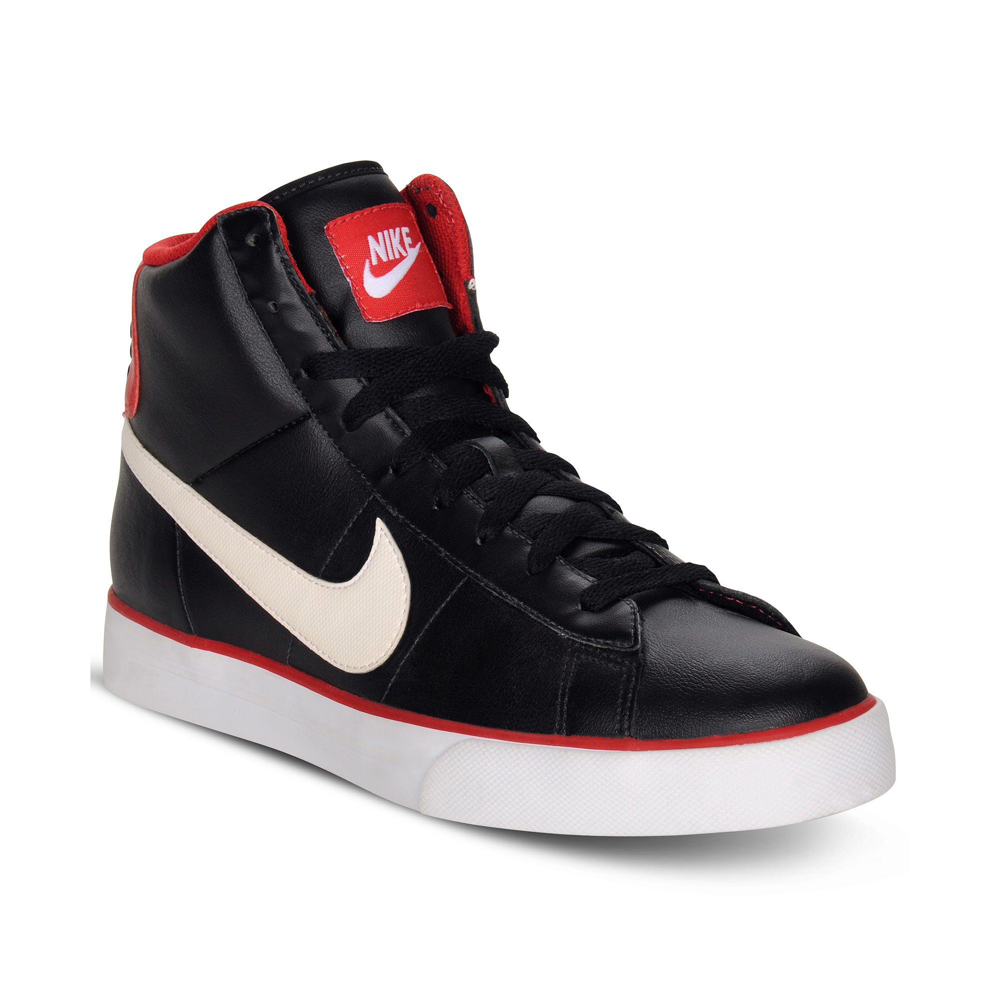 Lyst Nike Sweet Classic Leather High Top Sneakers In Black For Men