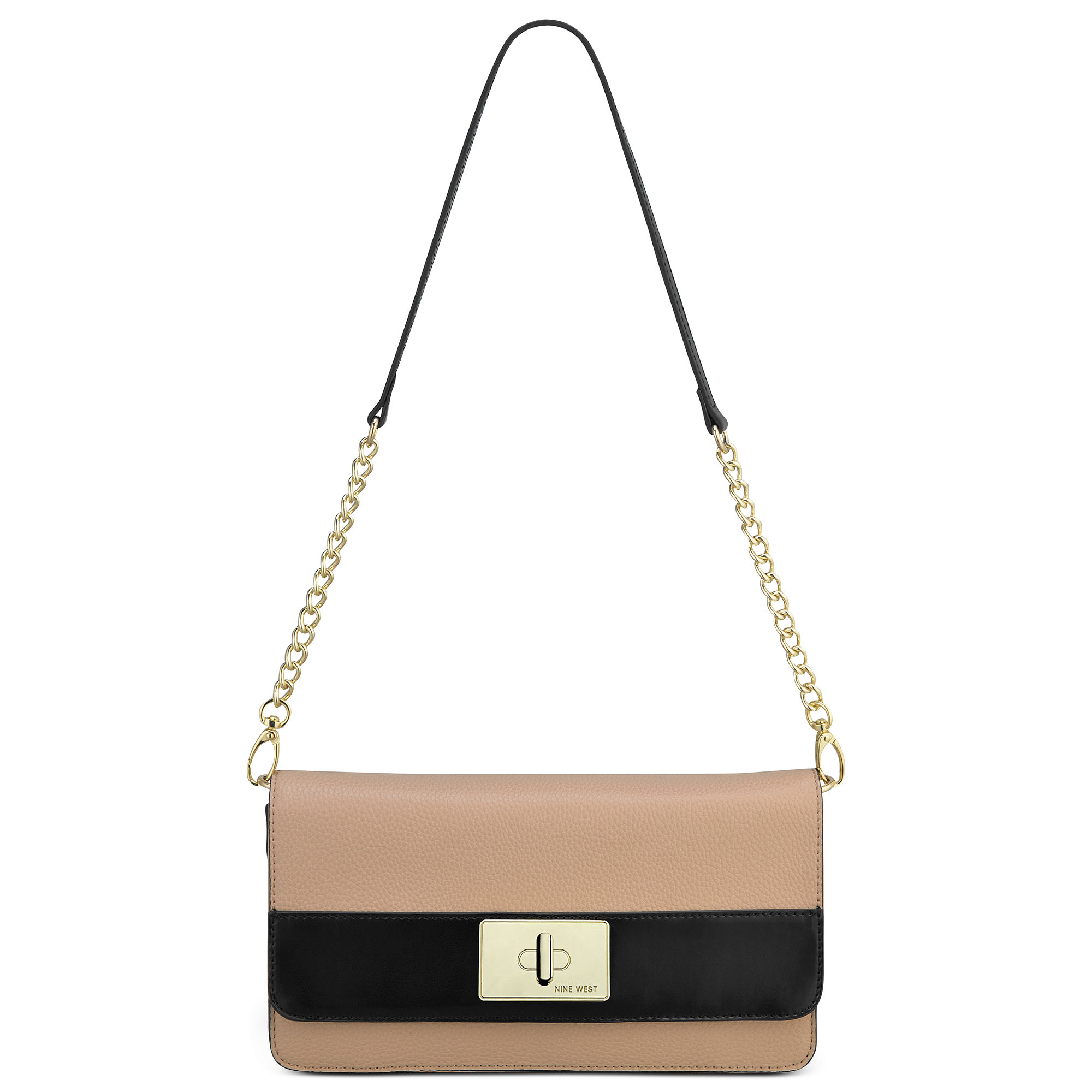 Nine west Pop Diva Clutch Shoulder Bag in Metallic | Lyst
