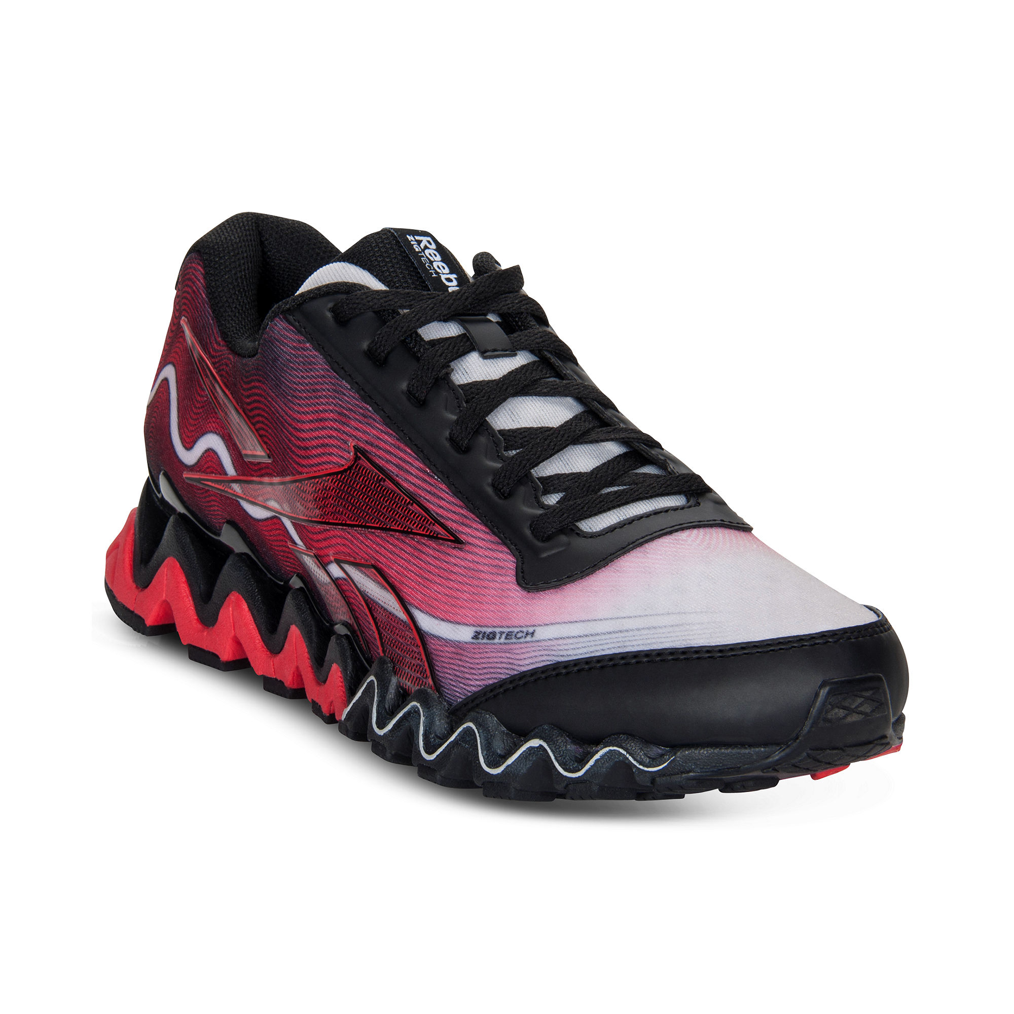 923c457be729 Reebok Zig Ultra Sneakers in Red for Men (STEEL BLACK .