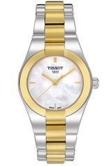 Tissot Womens Swiss Glam Sport Two Tone Stainless Steel Bracelet - Lyst