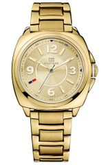 Tommy Hilfiger Womens Goldtone Stainless Steel Bracelet 38mm - Lyst