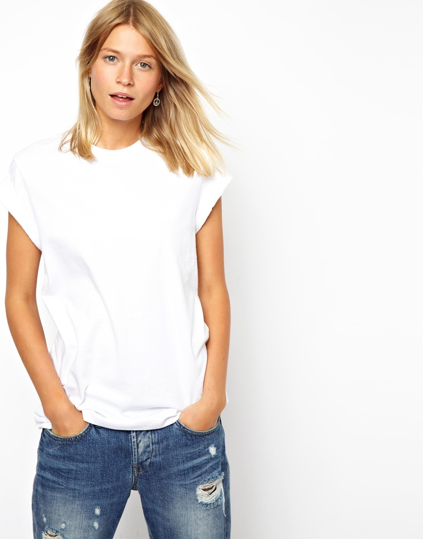 c97dbe94 ASOS The Ultimate Easy T-shirt in White - Lyst