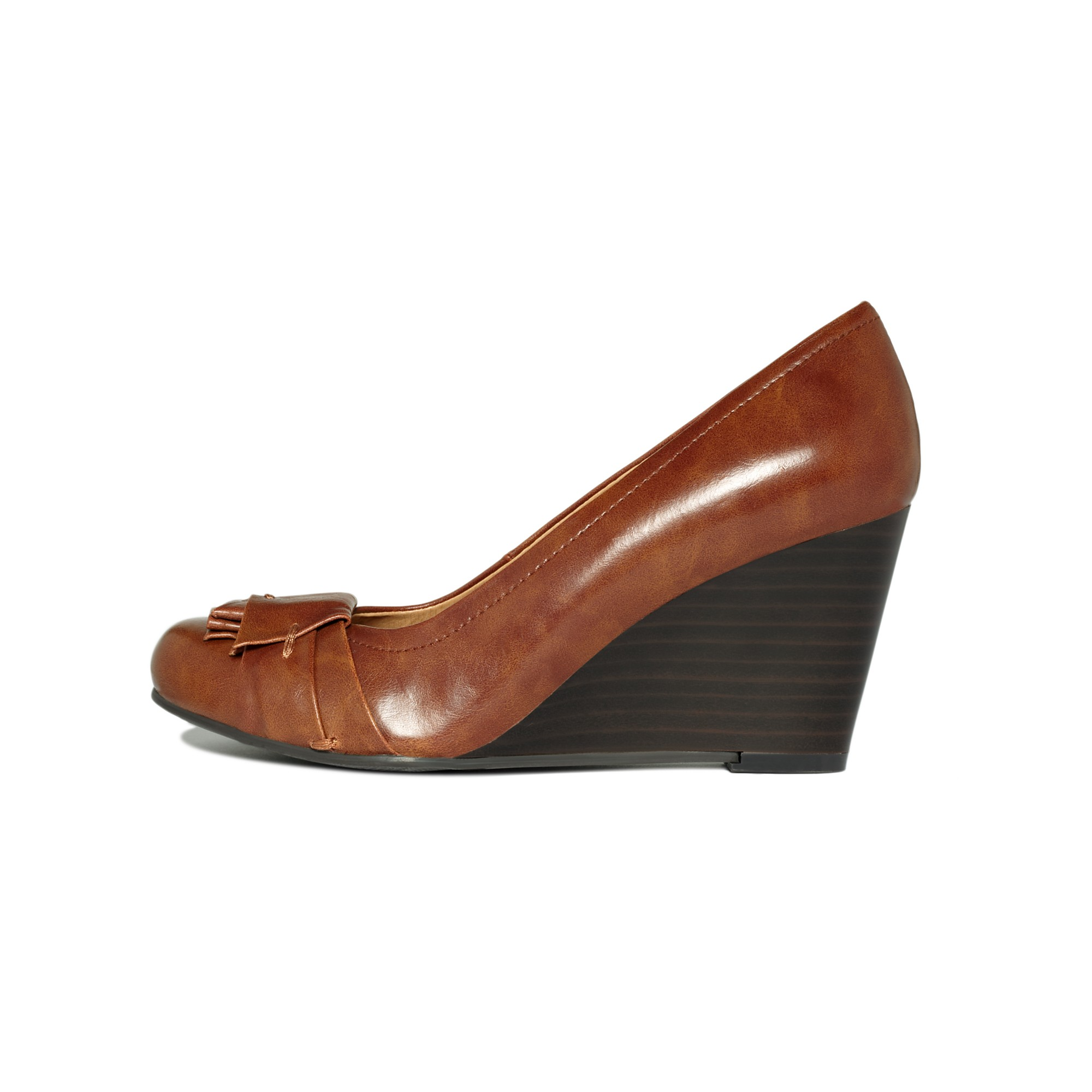 a209b51aef Lyst - Chinese Laundry Cl By Laundry Shoes Irmine Wedge Pumps in Brown