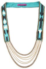 Fiona Paxton Beaded Necklace - Lyst