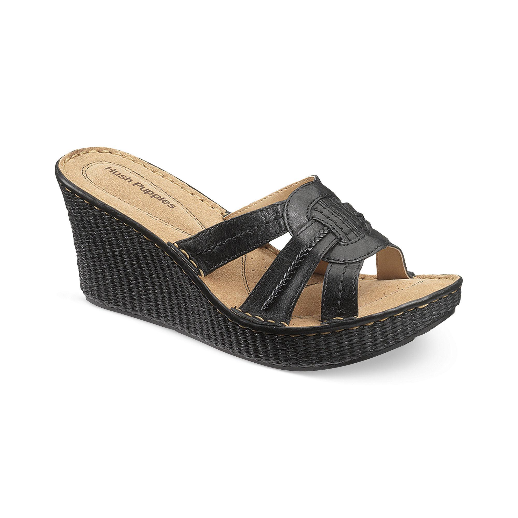 Black Man Slide Shoes