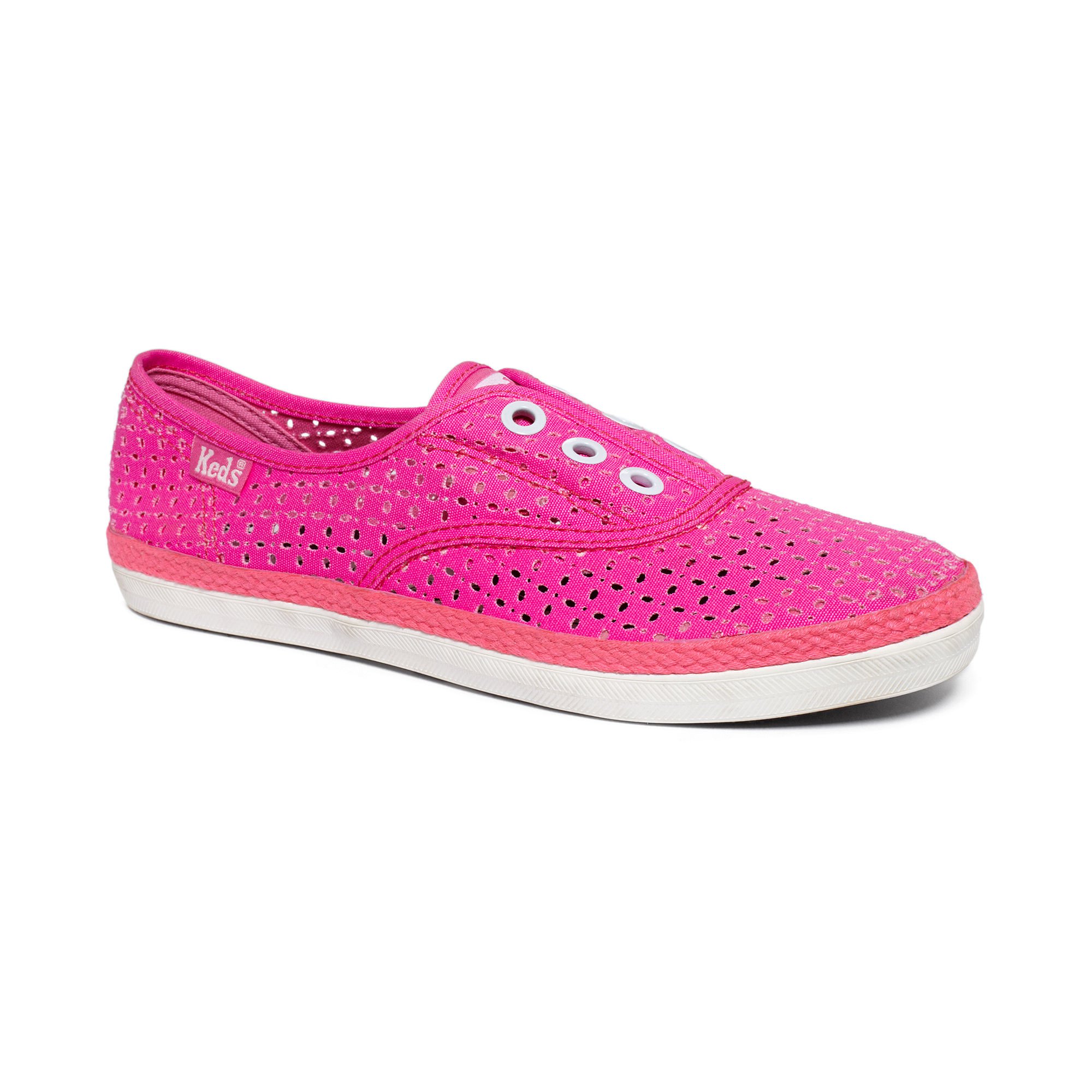 keds rookie laceless sneakers in pink lyst