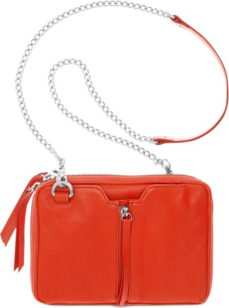 Kelsi Dagger Chelsea Convertible Crossbody in Red (Poppy)