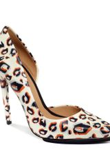 L.a.m.b. Lamb Shoes Camryn Ii Pumps in Animal (Print Leopard) - Lyst