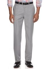 Lauren by Ralph Lauren Light Grey Check Pants - Lyst