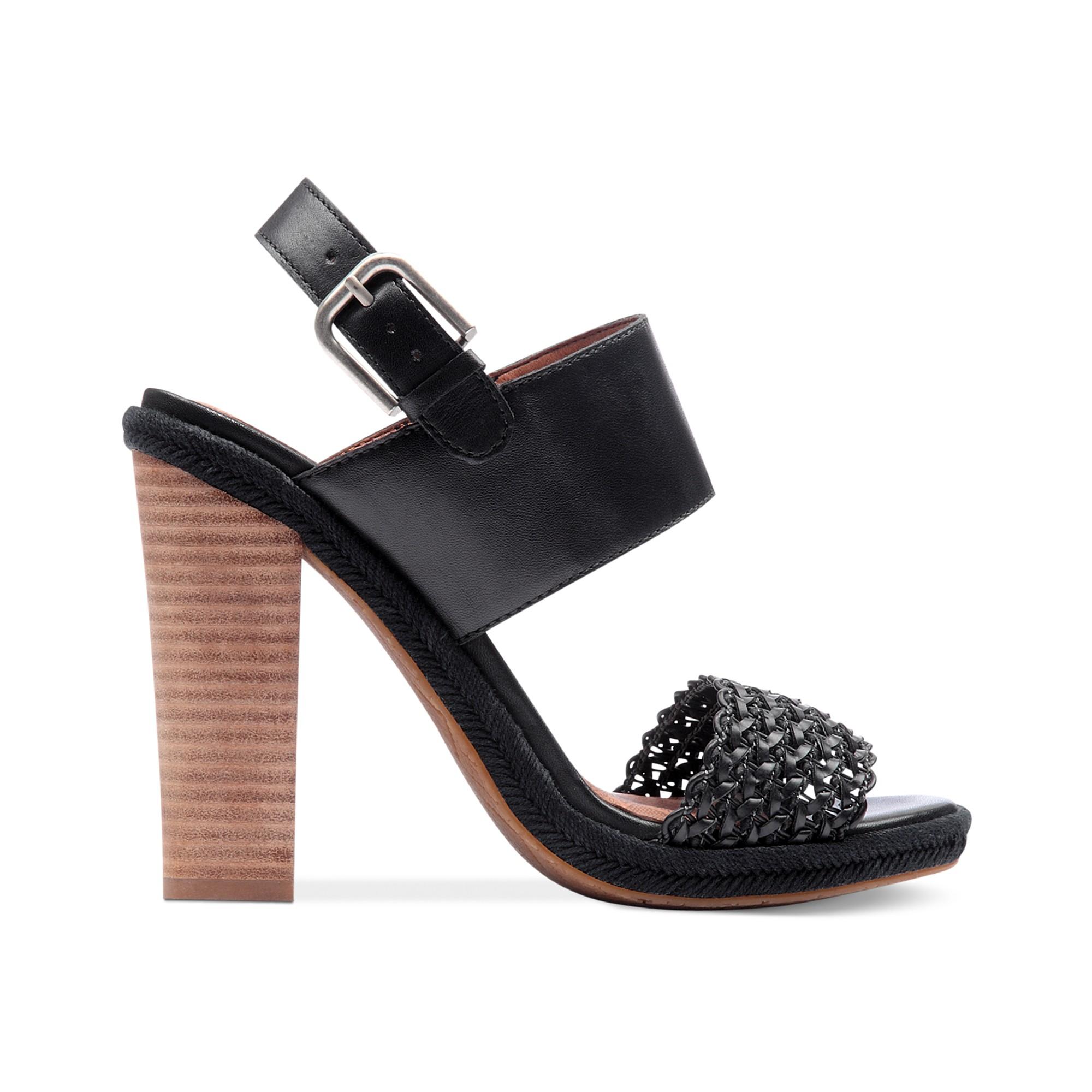 494f8ba4189 Lyst - Lucky Brand Putnam Sandals in Black
