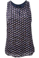 Marc By Marc Jacobs Printed Tank Top - Lyst