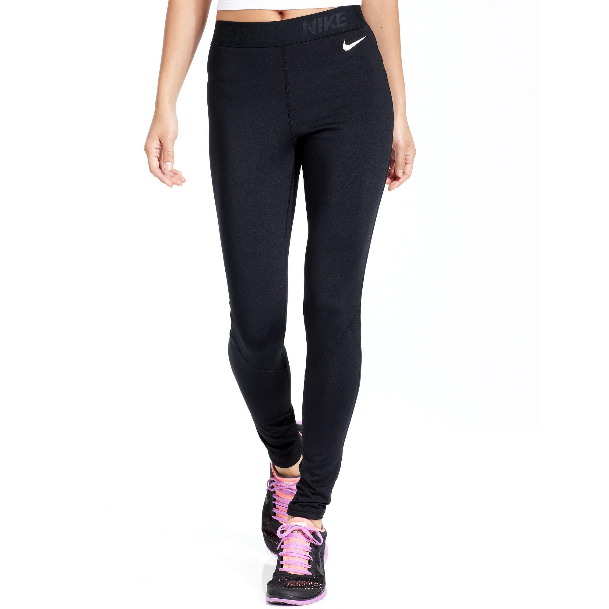 Lyst - Nike Prohyperwarm Drifit Running Leggings in Black b8a2b7ac7