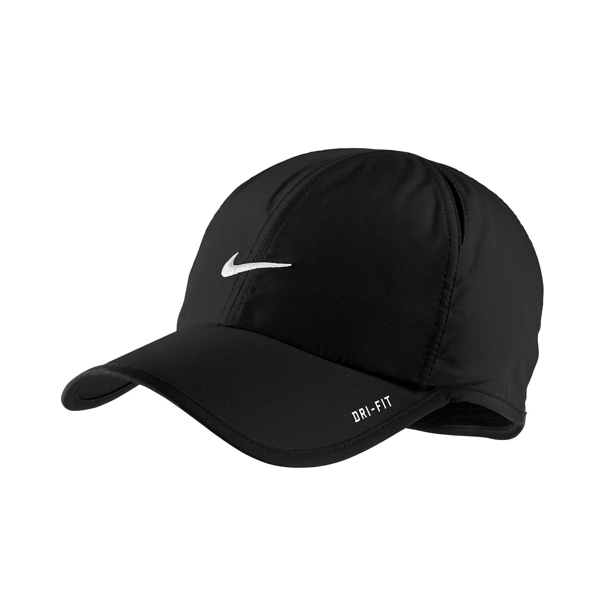 8cf7daab9fb Lyst - Nike Dri Fit Feather Light Cap in Black for Men
