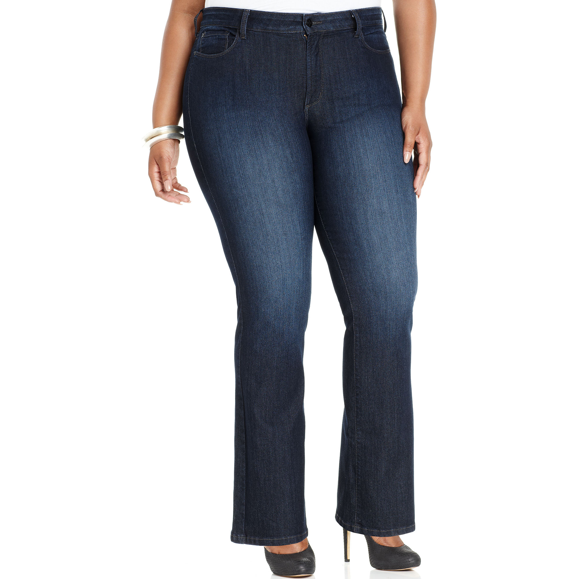not your daughter 39 s jeans nydj plus size jeans barbara. Black Bedroom Furniture Sets. Home Design Ideas