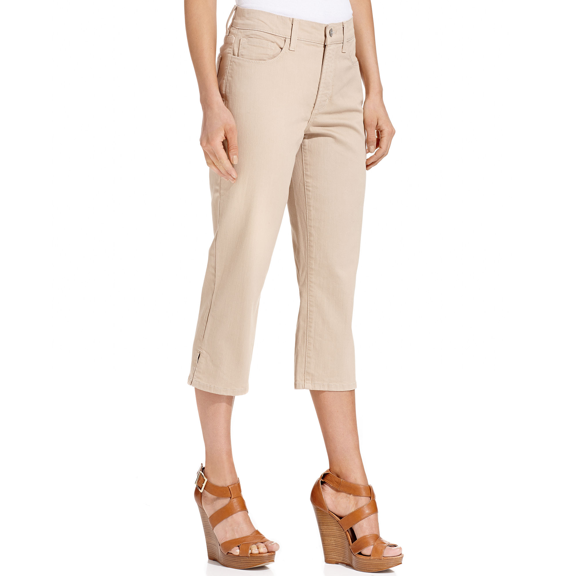 not your daughter 39 s jeans nydj jeans isla skinny capris. Black Bedroom Furniture Sets. Home Design Ideas