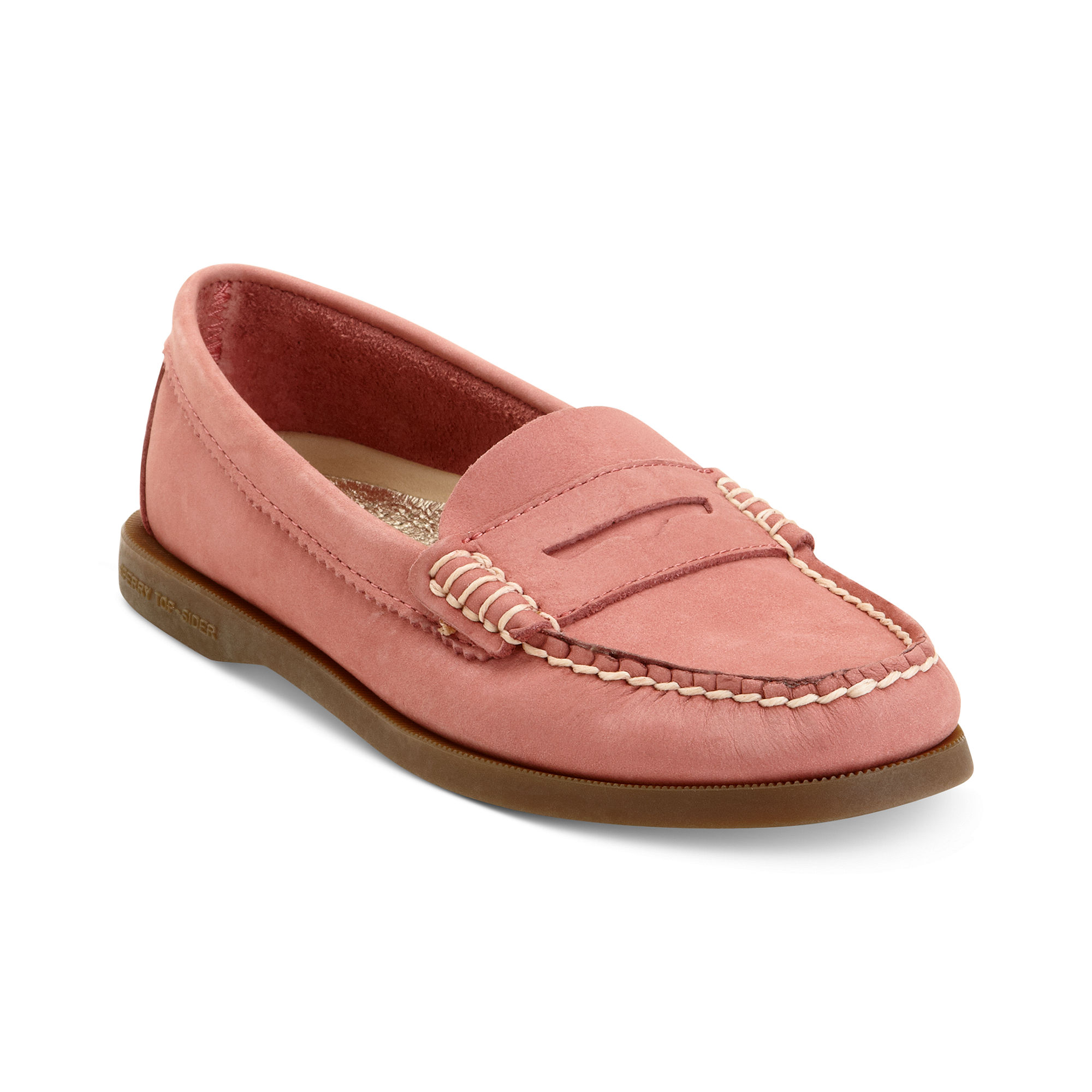 Lyst Sperry Top Sider Hayden Penny Loafer Flats In Red