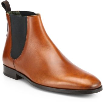 To Boot Brent Leather Chelsea Boots - Lyst