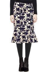 Tory Burch Kai Skirt - Lyst