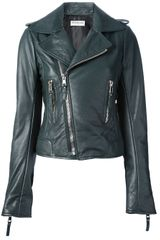 Balenciaga Leather Jacket - Lyst