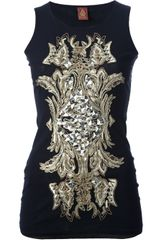 Dondup Embroidered Vest - Lyst