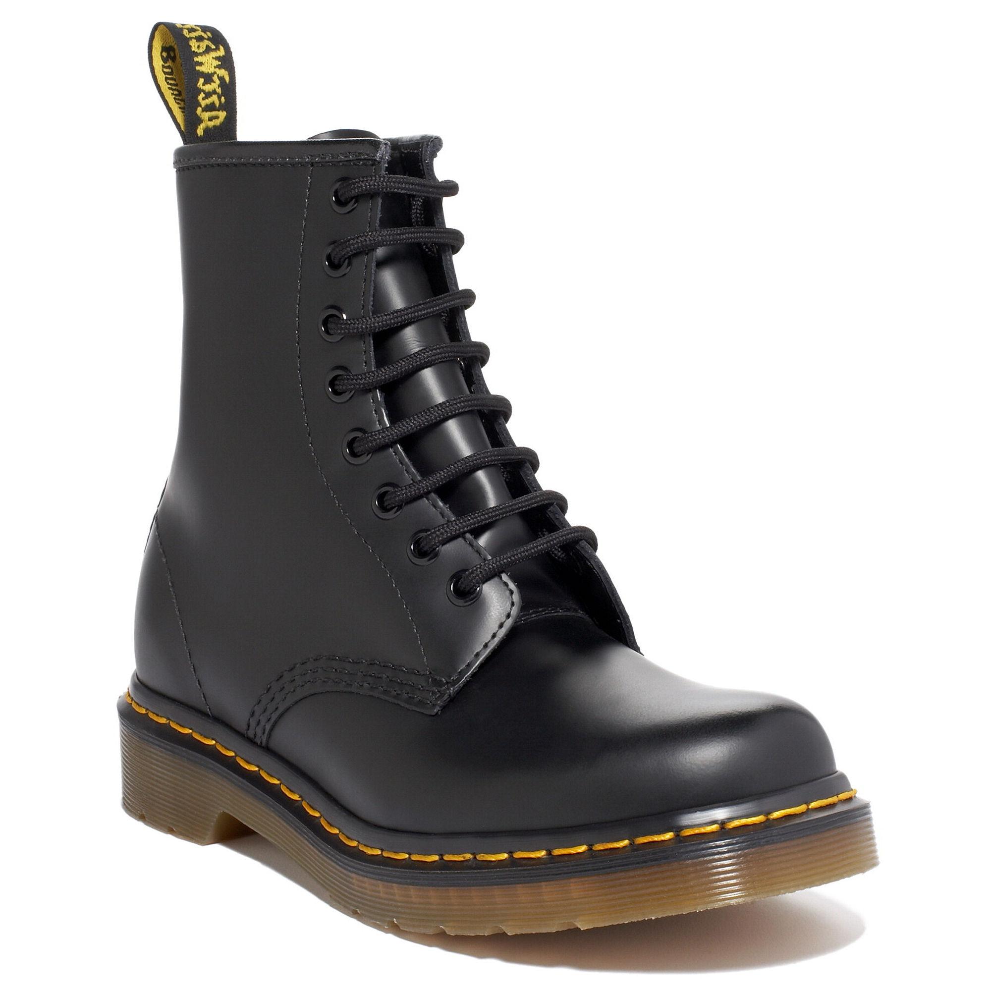dr martens black original 8 boots in black for men lyst. Black Bedroom Furniture Sets. Home Design Ideas