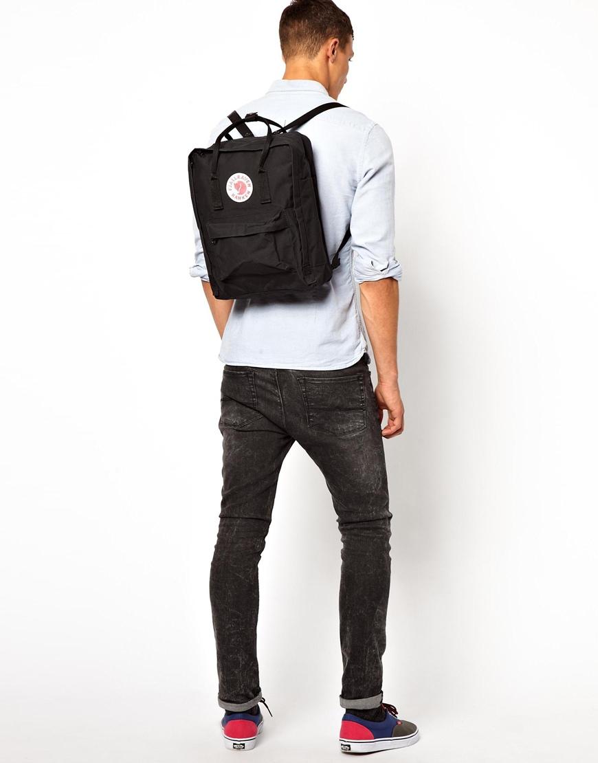 275c6ed5c3 Lyst - Eastpak Fjallraven Kanken Backpack in Black for Men