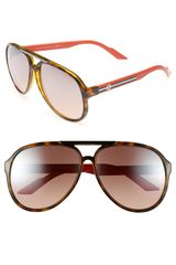 Gucci M 59mm Sunglasses - Lyst