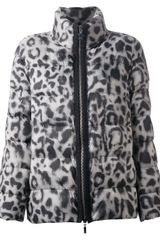 Moncler Gamme Rouge Animal Print Padded Jacket - Lyst