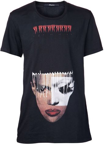 Reception Grace Jones Collage Tshirt - Lyst