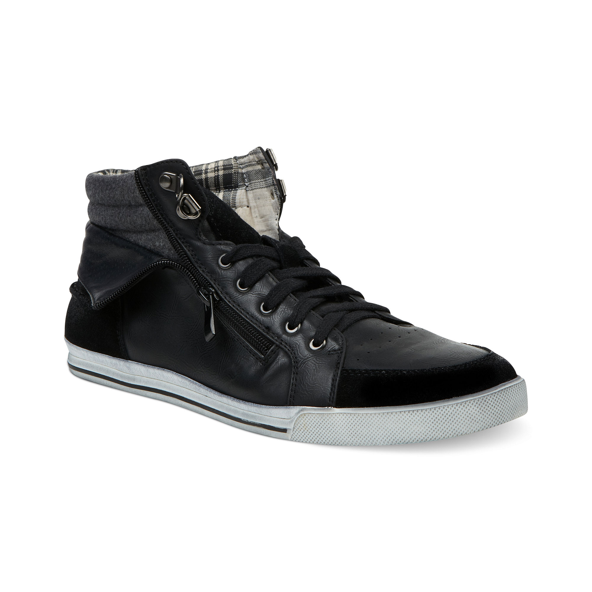 steve madden orwell sneakers in black for lyst