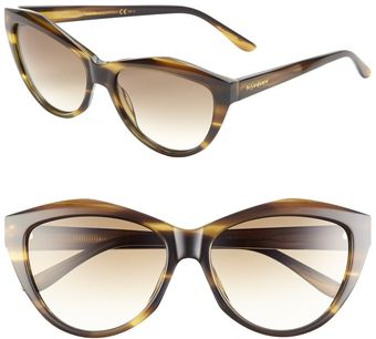 Yves Saint Laurent Saint Laurent Cats Eye Sunglasses - Lyst