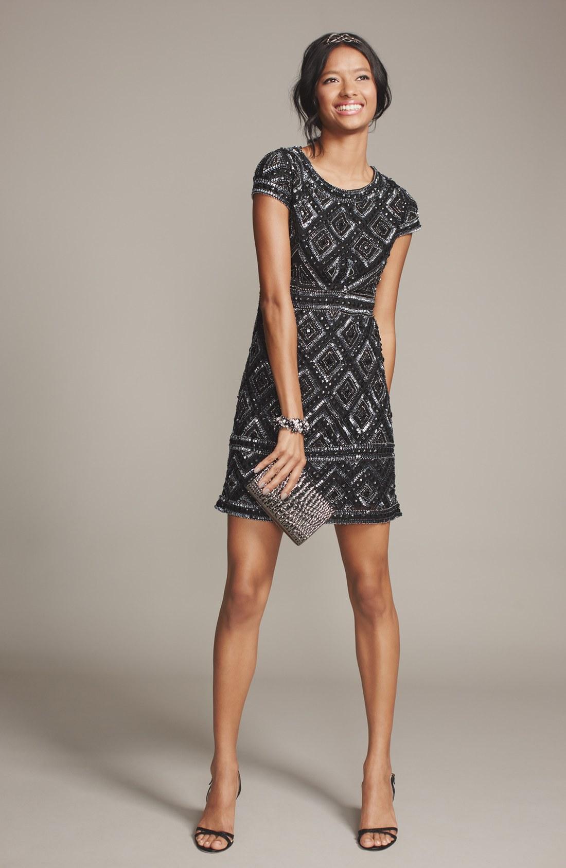 Turmec » adrianna papell strapless lace sheath dress gunmetal