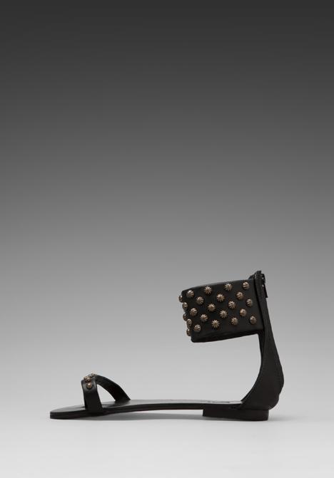 7c59a0c2b62244 Lyst - Anine Bing Ankle Cuff Sandals in Black in Black