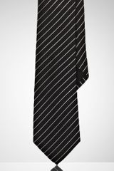 Black Label Narrow Mayfair Striped Tie - Lyst