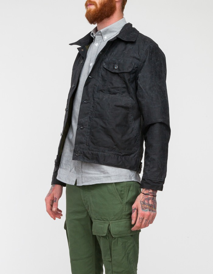 Lyst Filson Short Lined Cruiser Jacket In Black For Men