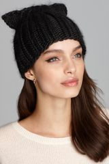 Genie By Eugenia Kim Felix Knit Cap with Cat Ears - Lyst