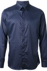 Paul Smith Diamond Print Shirt - Lyst
