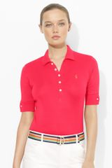 Ralph Lauren Golf Five-button Cotton Polo - Lyst