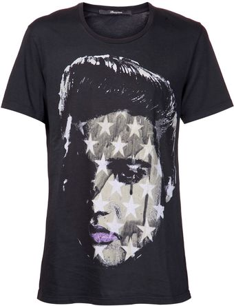 Reception Elvis Collage Tshirt - Lyst