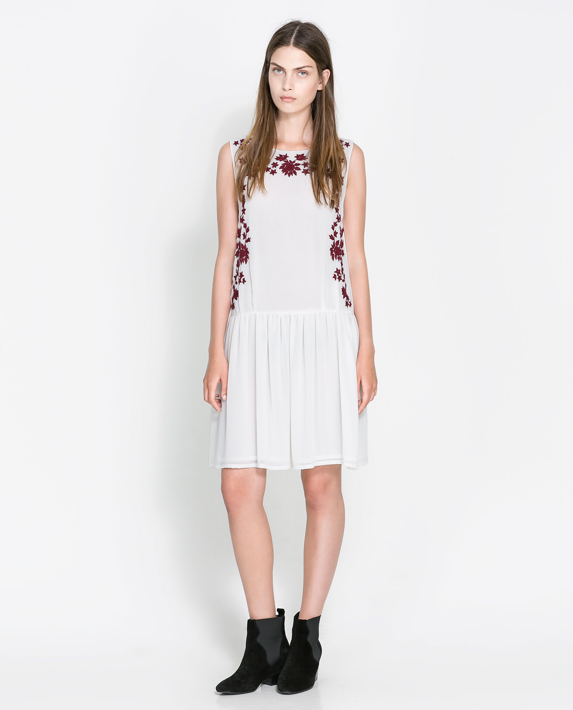 White dress at zara - Gallery