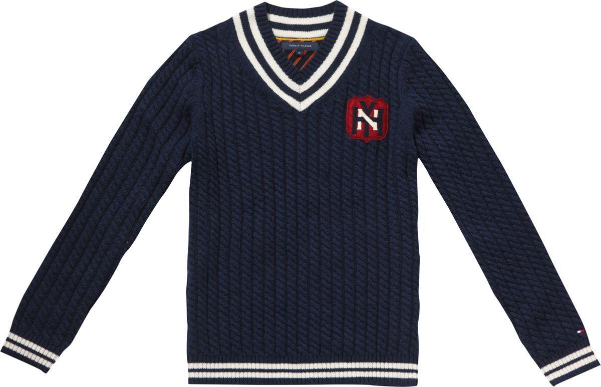 tommy hilfiger chase cricket sweater in blue for men lyst. Black Bedroom Furniture Sets. Home Design Ideas