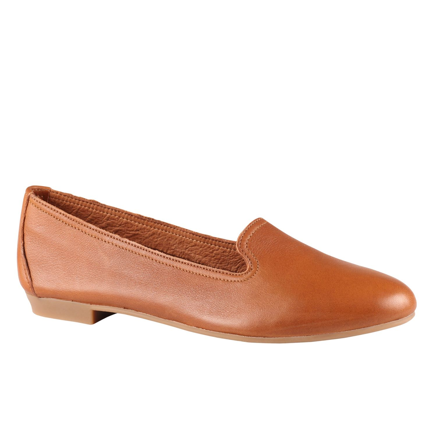 Aldo Zenica Leather Loafer Shoes In Brown (Cognac) | Lyst