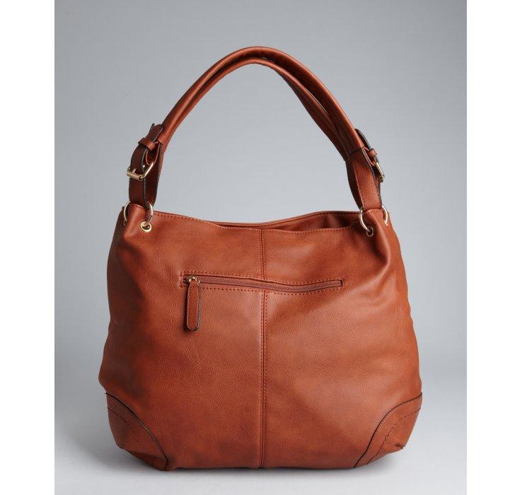 Big buddha Cognac Faux Leather Braided Oversize Granada Hobo Bag ...