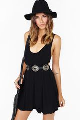 Nasty Gal Sweet Suspense Dress Black - Lyst