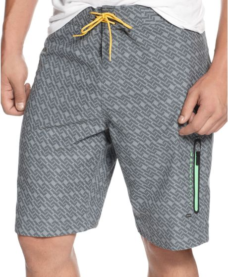 Nike Livestrong Prodigy Board Shorts in Gray for Men (cool ...