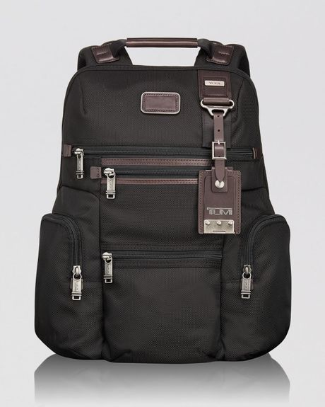 Tumi Alpha Bravo Knox Backpack In Black For Men Hickory