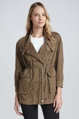 Current/Elliott T The Military Parka - Lyst