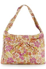 Hobo Betty Slouch Shoulder Bag Tropical Print - Lyst